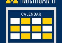 Michigan IT News Calendar