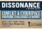 Dissonance: Conflict & Cyberspace graphic