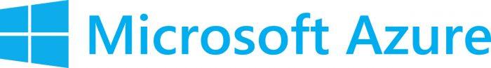 Microsoft Azure icon and wordmark