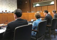 J. Alex Halderman testifies at a Senate hearing