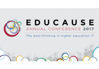 EDUCAUSE Annual Conference 2017; The best thinking in higher education IT