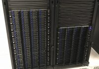 rack showing cavium nodes