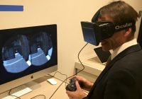 Viewing Oplontis Villa with the Oculus Rift.