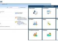 A visual refresh of the interface for M-Pathways Financials PeopleTools