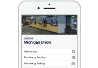 screenshot of Michigan app