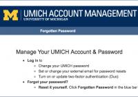 account management UI