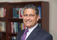 A headshot of Ravi Pendse, U-M VPIT-CIO