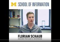 video screen showing Prof. Schaub
