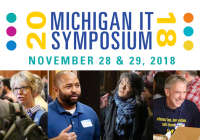 Michigan IT Symposium: November 28 & 29, 2018