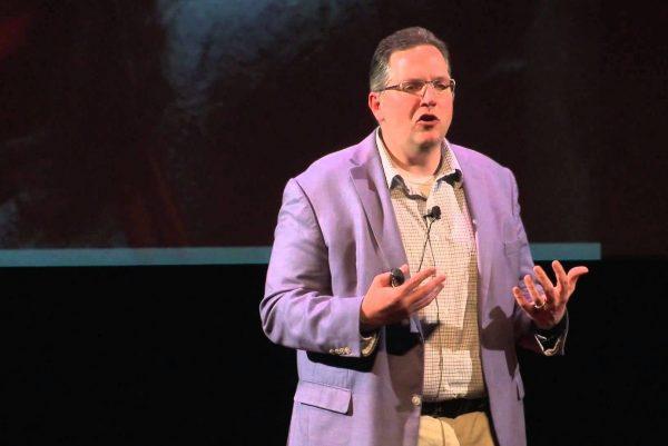 Cliff Lampe at TedEx talk