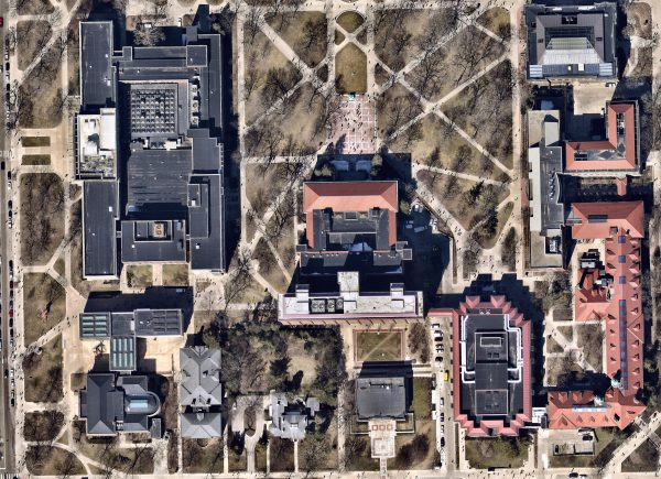 Nearmap aerial imagery of the Diag