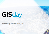 GIS Day, Wednesday, 14 November 2018