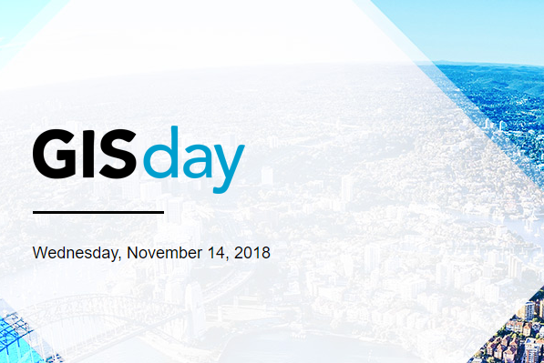GIS Day, Wednesday, 14 November 2018