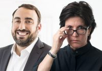 Alex Stamos and Kara Swisher