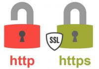 HTTP and HTTPS with padlock images