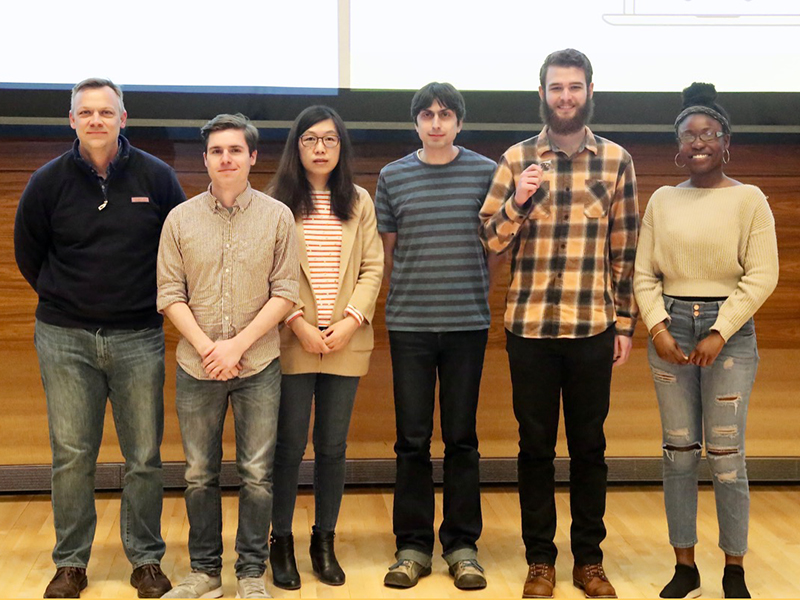 Team 14: U-M StudySpace took second place at Hacks With Friends 2019