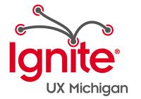Ignite UX Michigan logo