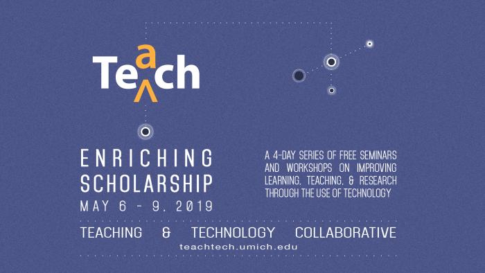 Enriching Scholarship 2019 tout