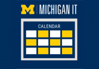 michigan it news calendar