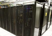 Server racks at the MACC Data Center