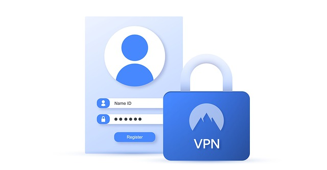 "login screen and lock with ""VPN"""