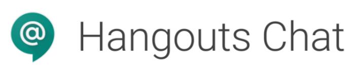 hangouts chat w/logo