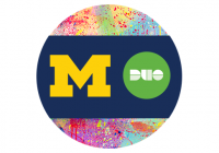 block M and Duo logo