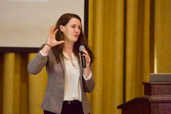 Author and inspirational speaker Liz Murray