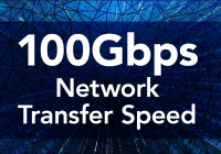 100 Gbps network transfer speed