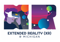 Extended Reality (XR) @ Michigan logo