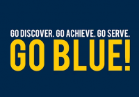 GO DISCOVER. GO ACHIEVE. GO SERVE. GO BLUE.