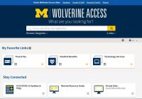 new Wolverine Access home page