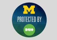 """U-M protected by Duo"""