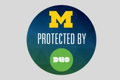 """""""U-M protected by Duo"""""""