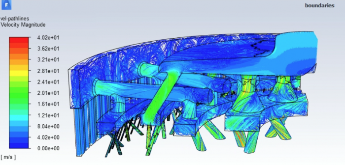 Liquid Rocket Engine Injector simulation