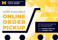At-The-Door Pickup Service at Tech Shop