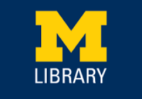 M Library logo
