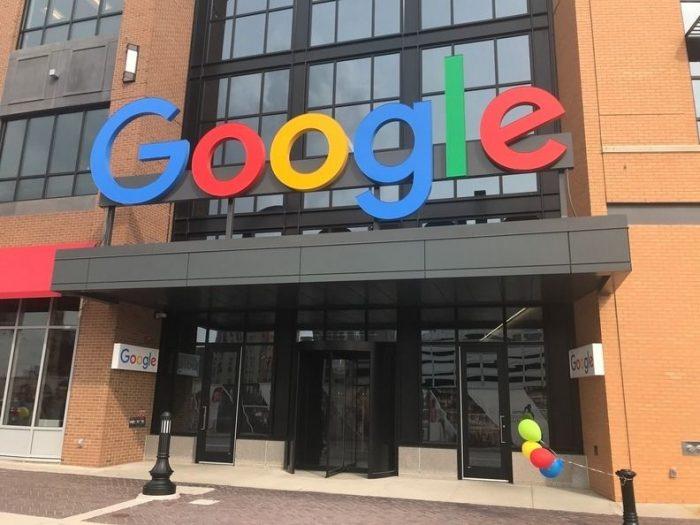 Google's Detroit office
