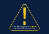 UM Emergency Alerts logo