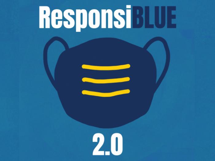 Illustration of mask, ResponsiBLUE 2.0