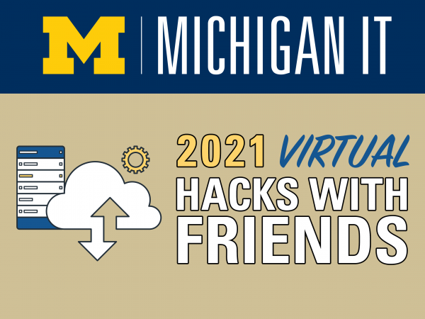 Registration opens on April 12 for the Hacks with Friends event