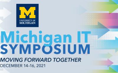 The Michigan IT Symposium is Dec. 14-16
